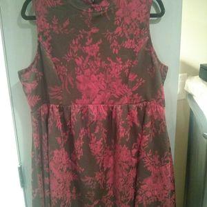 Gorgeous, Xhiliration XXL Black/ Red party dress